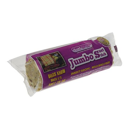 Suet To Go Jumbo Stick Insect & Seed - 500 gr.