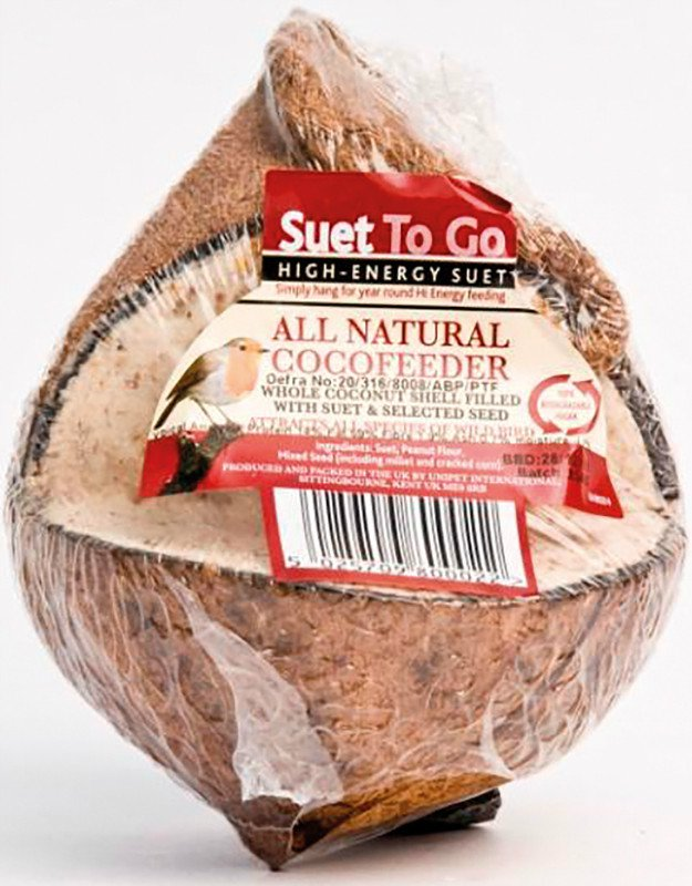 Suet To Go Whole Coconut