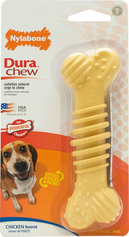 Nylabone Durable Chew Plus Chicken M - tot 15 kg