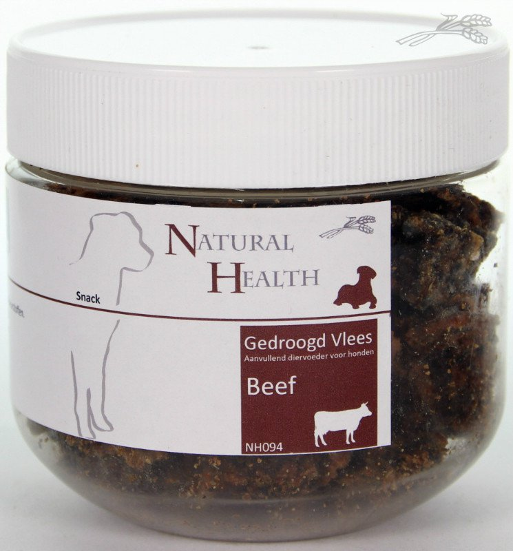 Natural Health Beef Snack - 100 gr.