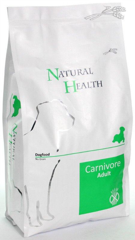 Natural Health Dog Carnivore - 3 kg.