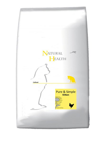Natural Health Cat Kitten - 7,5 kg.