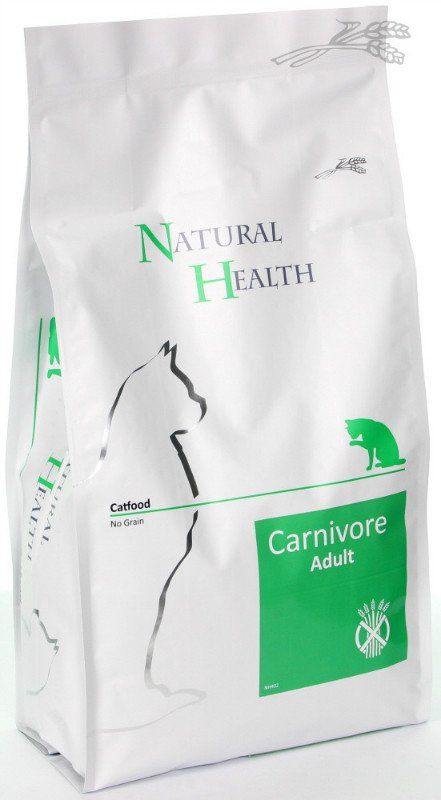 Natural Health Cat Carnivore - 2,5 kg.