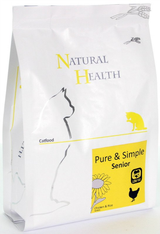 Natural Health Cat Senior - 400 gr.