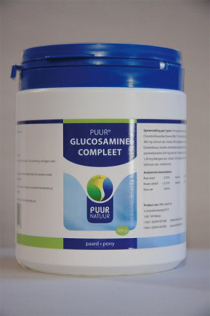Puur Glucosamine compleet - 500 gr.