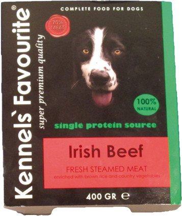 Kennels Favourite Steamed Beef - 400 gr. (10 verp.)