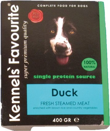 Kennels Favourite Steamed Duck - 400 gr. (10 verp.)