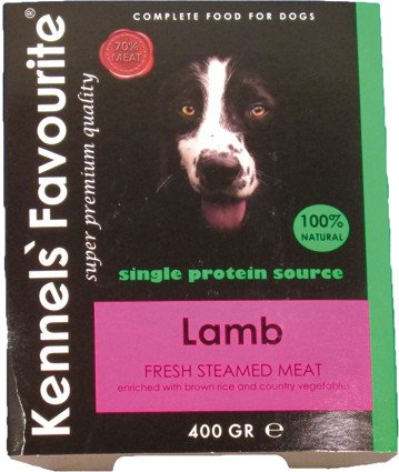 Kennels Favourite Steamed Lamb - 400 gr. (10 verp.)