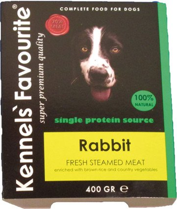 Kennels Favourite Steamed Rabbit - 400 gr. (10 verp.)