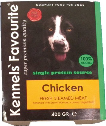 Kennels Favourite Steamed Chicken - 400 gr. (10 verp.)