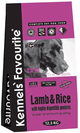 Kennels Favourite Lamb & Rice - 3 kg.