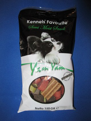 Kennels Favourite Yam-Yam Tutty Frutty - 150 gr. (14 verp.)