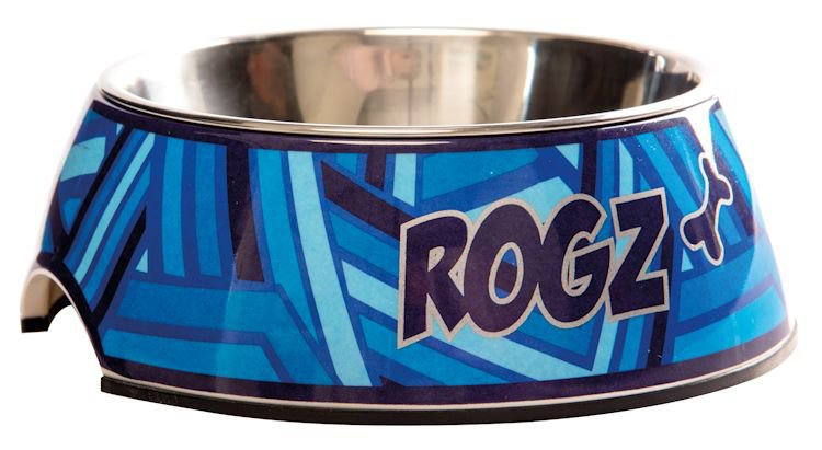 Rogz Bubble Bowlz Navy Zen - Medium