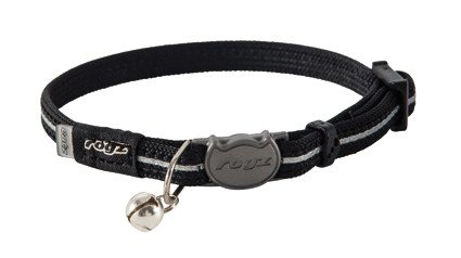 Rogz AlleyCat Halsband XS Black - 11mm