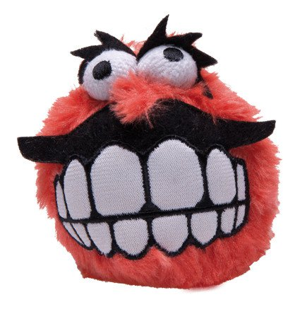 Rogz Grinz Fluffy Large Red - 8 cm.