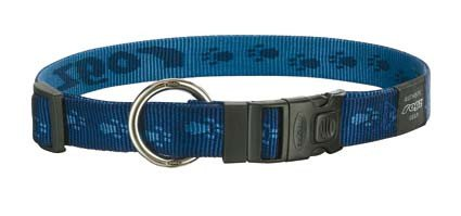 Rogz Everest Halsband Navy XL - 25mm