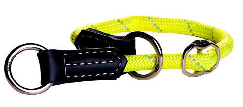 Rogz Rope Obedience Yellow Medium - 30-35 cm / 9 mm.