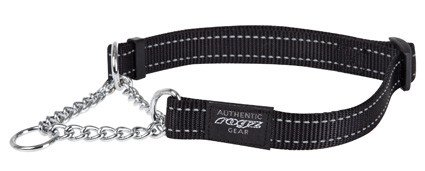 Rogz Fanbelt Obedience Zwart L - 20mm