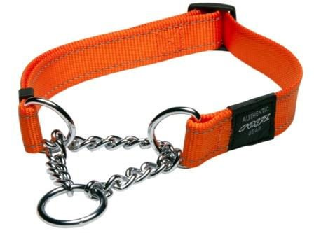 Rogz Fanbelt Obedience Orange L - 20mm