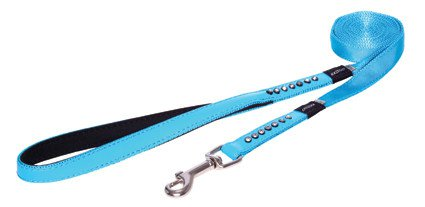 Rogz Lapz Luna Side Lijn Lang Blue M - 16mm