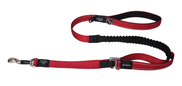 Rogz Lumberjack Control XL Lead Red - 25 mm x 120 cm