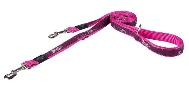 Rogz Armed Response Lijn Multi Pink Love - 25mm