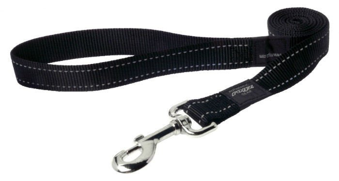 Rogz Fanbelt Lijn Multi Black L - 20mm