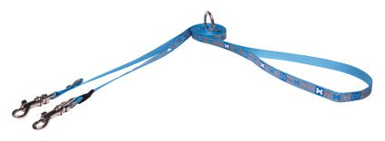 Rogz Reflecto Lijn Multi X-Small Blue - 180 cm x 8mm.