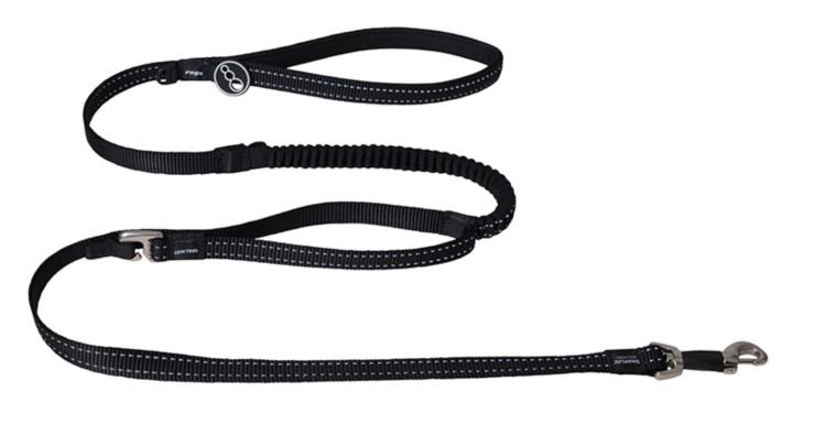 Rogz Snake Control Lead Black - 16 mm x 140 cm