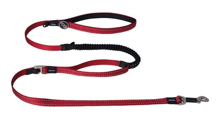 Rogz Snake Control Lead Red - 16 mm x 140 cm