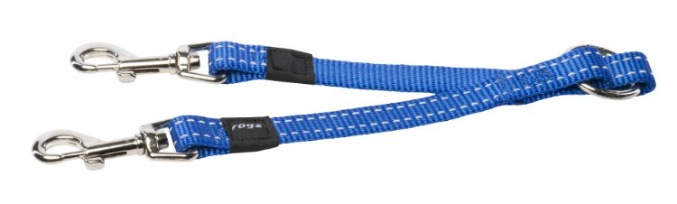 Rogz Snake Splitter Blue M - 16mm
