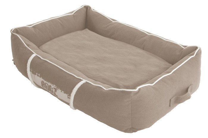 Rogz Lounge Pod Stone/Cream - Medium