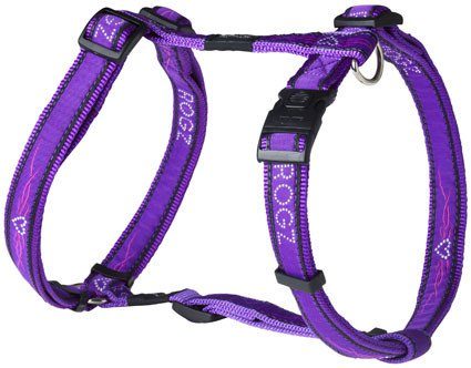 Rogz Armed Response Tuigje Purple Chrome XL - 25mm
