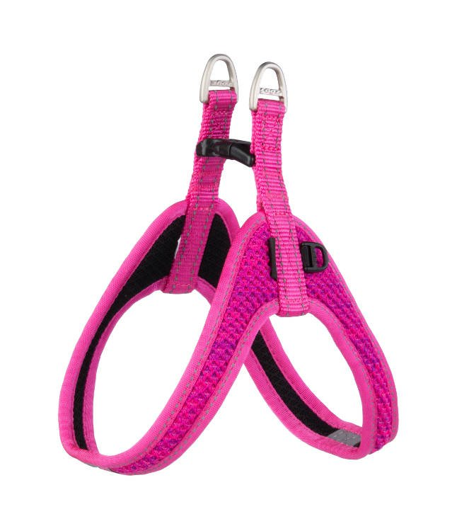 Rogz Nite Life Fast Fit Tuig Pink Reflective - S/M 47cm