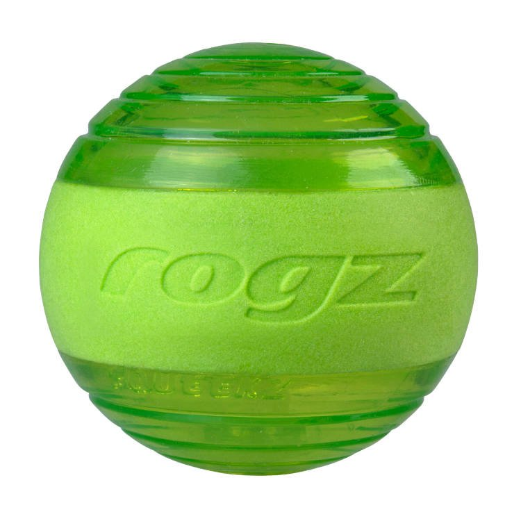 Rogz Squeekz Lime Medium - 6,4 cm