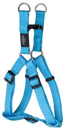 Rogz Fanbelt Step-in H Turquoise L - 20mm