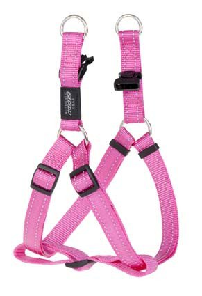 Rogz Fanbelt Step-in H Pink L - 20mm
