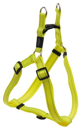 Rogz Snake Step-in H Yellow M - 16mm