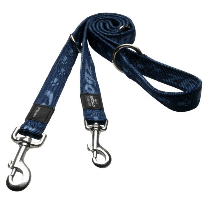 Rogz Everest Lijn Multi Navy XL - 25mm